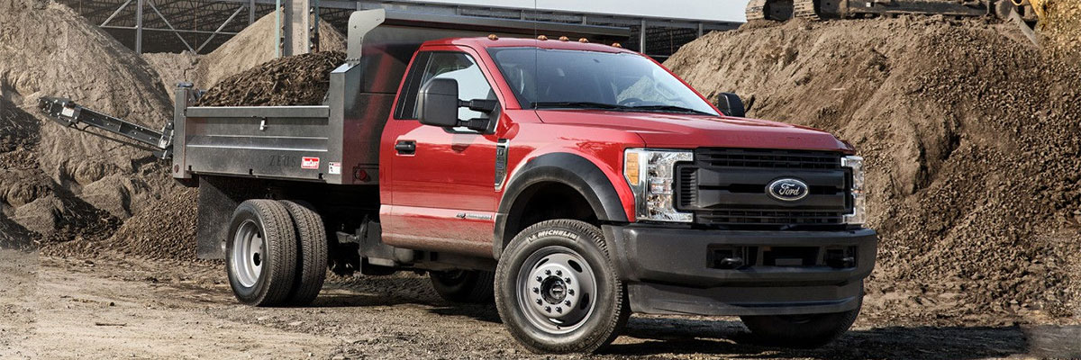 new Ford Super Duty F-550 DRW