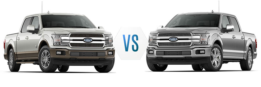 2018 ford f 150 king ranch vs platinum