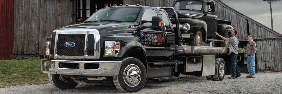 new Ford Super Duty F-650 Straight Frame