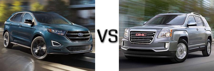 Ford Edge Vs Gmc Terrain