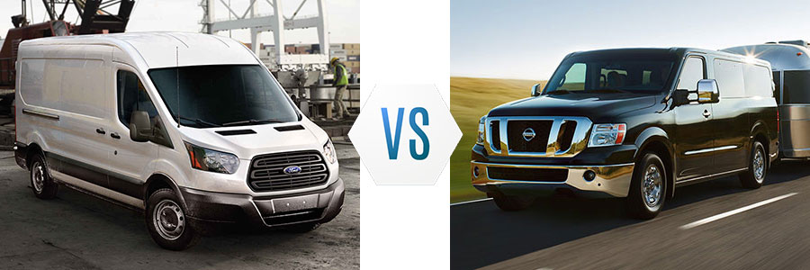 2015 Nissan NV Comparison