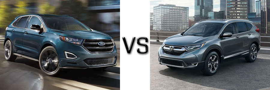Ford Edge Vs Honda Cr V