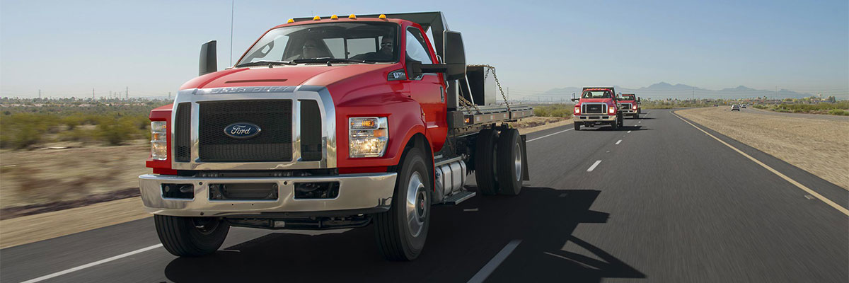 new Ford F-650 SD