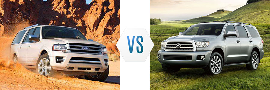 2017 ford expedition vs toyota sequoia. Black Bedroom Furniture Sets. Home Design Ideas